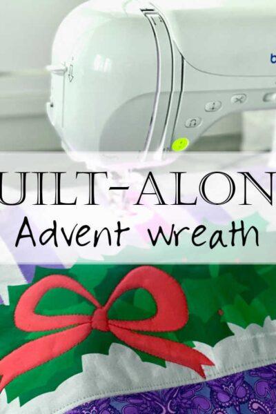 Advent Wreath Quilt Along