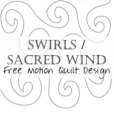 How to Free Motion Quilt Spirals