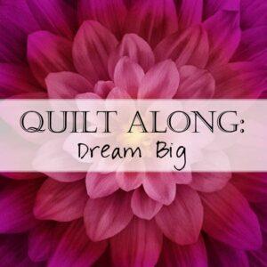 Dream Big Quilt Along
