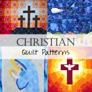 Christian Quilt Patterns Collage 2