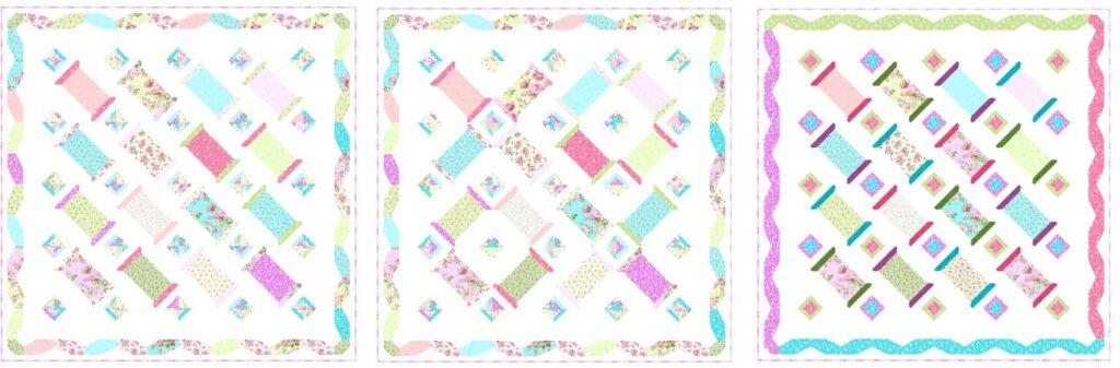 Spools of Thread Quilt Pattern Idea 4