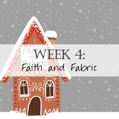 Holiday House Hop: Welcome to Faith and Fabric