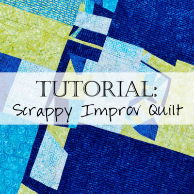 Save those fabric scraps and turn them into a beautiful scrappy improv quilt back! In this video tutorial, we'll walk you through how to trim your fabric scraps, share tips for piecing and color sorting, and show you how to connect your beautiful improv blocks!