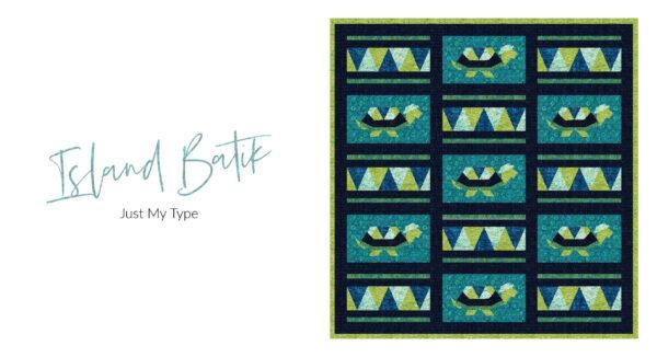 Turtle Tortoise Quilt Block 4