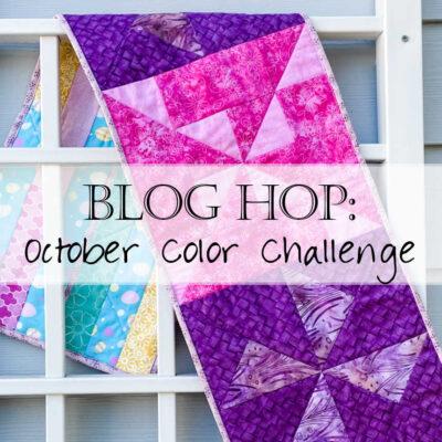 2021 Monthly Color Challenge: Grapefruit in October